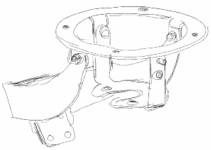 gimbal bracket initial sketch concept