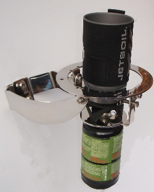 the stable stove gimbal bracket for a jet boil stove