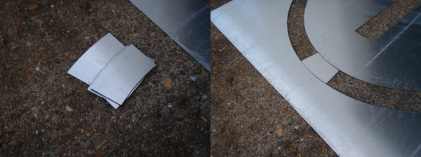 TCR Logo setting plates