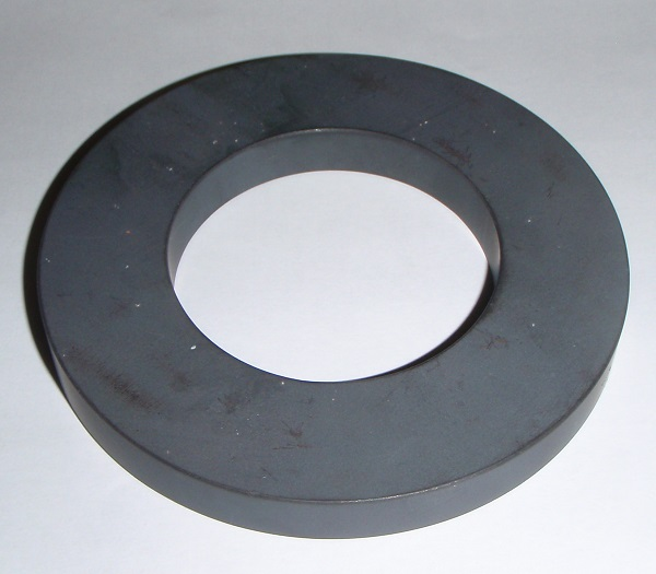 ferrite toroidal core disc before cutting
