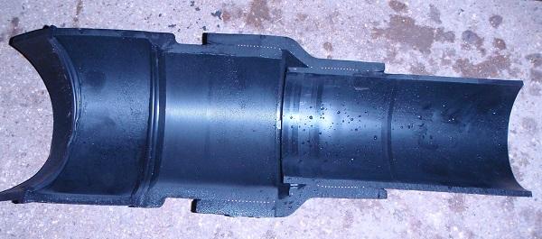 nupi smartflex pipe waterjet cut in half