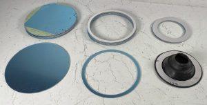 aircraft grade 2024 aluminum sheet waterjet cut rings for aircraft restoration parts
